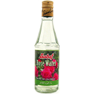 Rose Water Use