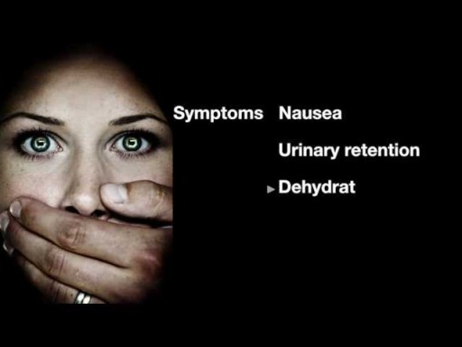 "When I Googled ""Valium addiction"", this came up on a website for a treatment center in Kansas. I'm pretty sure that is a sexual assault picture. I guess if you're a Valium addict, you're more likely to get sexually assaulted. Also, I don't know which symptom ""dehydrat"" is, but it sounds scary."