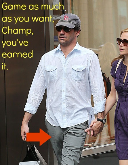 "The number of times I've added an image to my computer labeled ""Jon Hamm's bulge"" is nothing short of astounding."